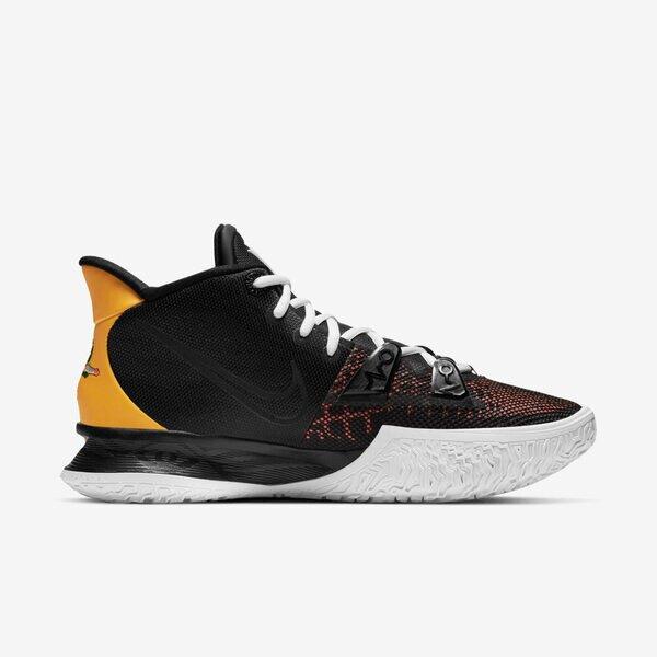 Nike Kyrie 7 Ep [CQ9327-003] 男鞋 運動 休閒 籃球 包覆 貼合 抓地力 支撐 舒適 黑 金