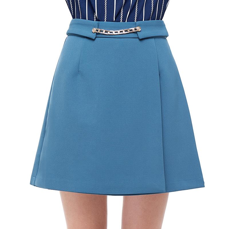 HS OL必備裙 午夜藍