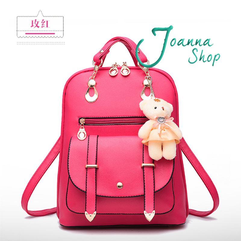 後背包 法式浪漫質感後背包3-Joanna Shop