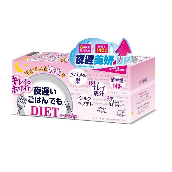 日本新谷酵素 夜遲酵素錠 美妍版(30日份) 【康是美】