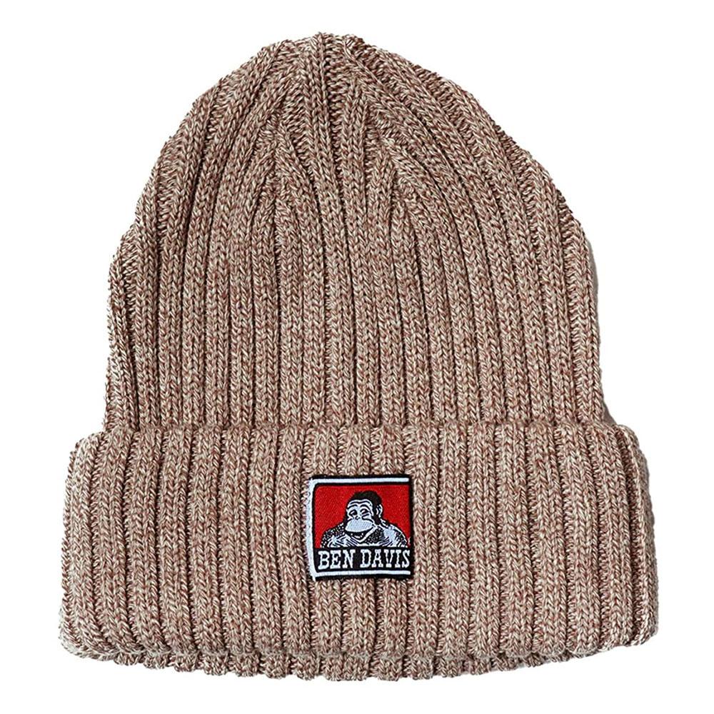 BEN DAVIS - BDW-9500-09 COTTON KNIT CAP 毛帽 / 針織帽 (咖啡)
