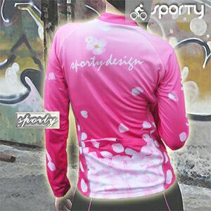 【sporty】女用粉柔芯全彩長袖車衣.自行車.腳踏車.單車.小折.騎行服