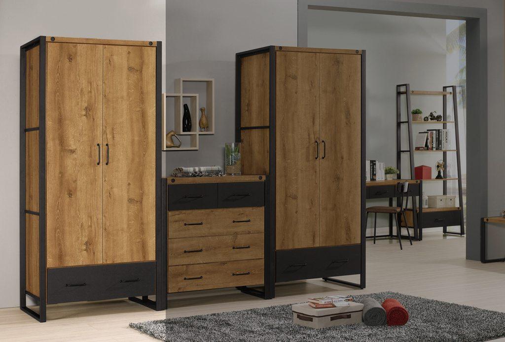 【尚品傢俱】CM-600-1 布朗克斯2.9尺衣櫥