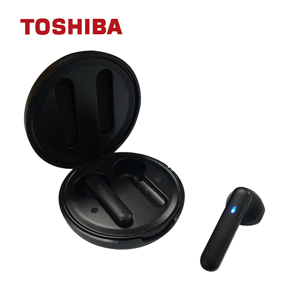 免運 TOSHIBA東芝 真無線藍芽耳機 RZE-BT730E-K 【2入組】