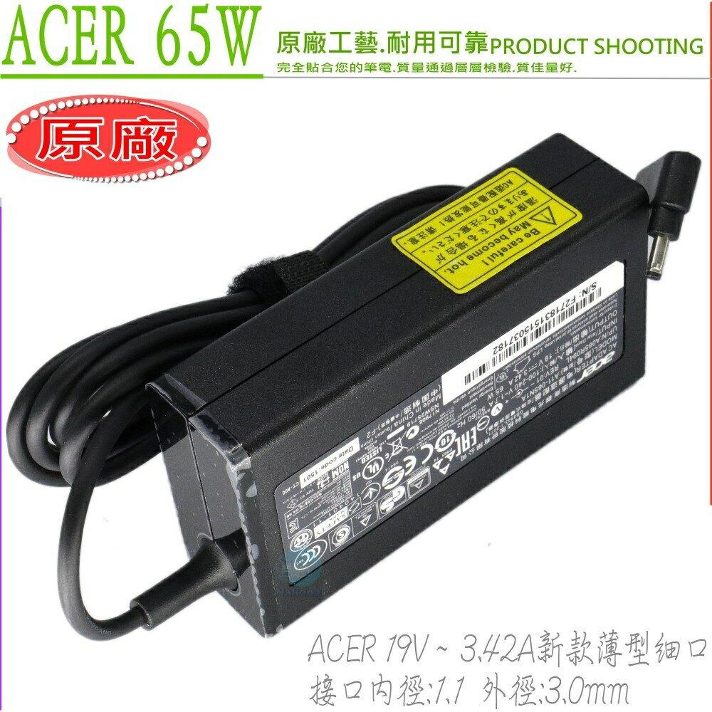 ACER 3.42A,65W 變壓器(原廠細頭)-19V,S5,S5 S7-391-9886,S5-391,S7,S7-1915334G25ass,S7-391,TMX3410