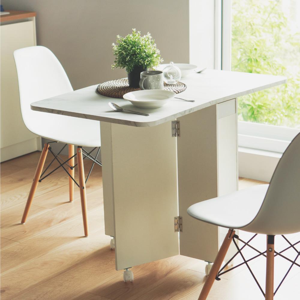 日式多功能摺疊餐桌(三色) 完美主義【F0107】