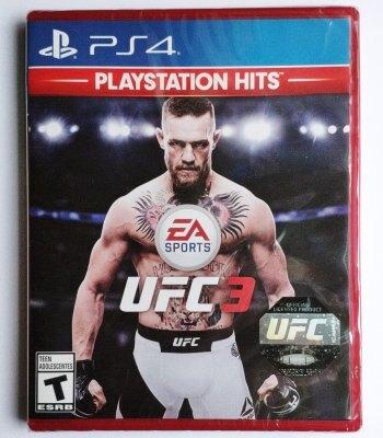 美琪PS4遊戲 終極格鬥3 EA Sports UFC 3 歐版美版中文英文可雙人