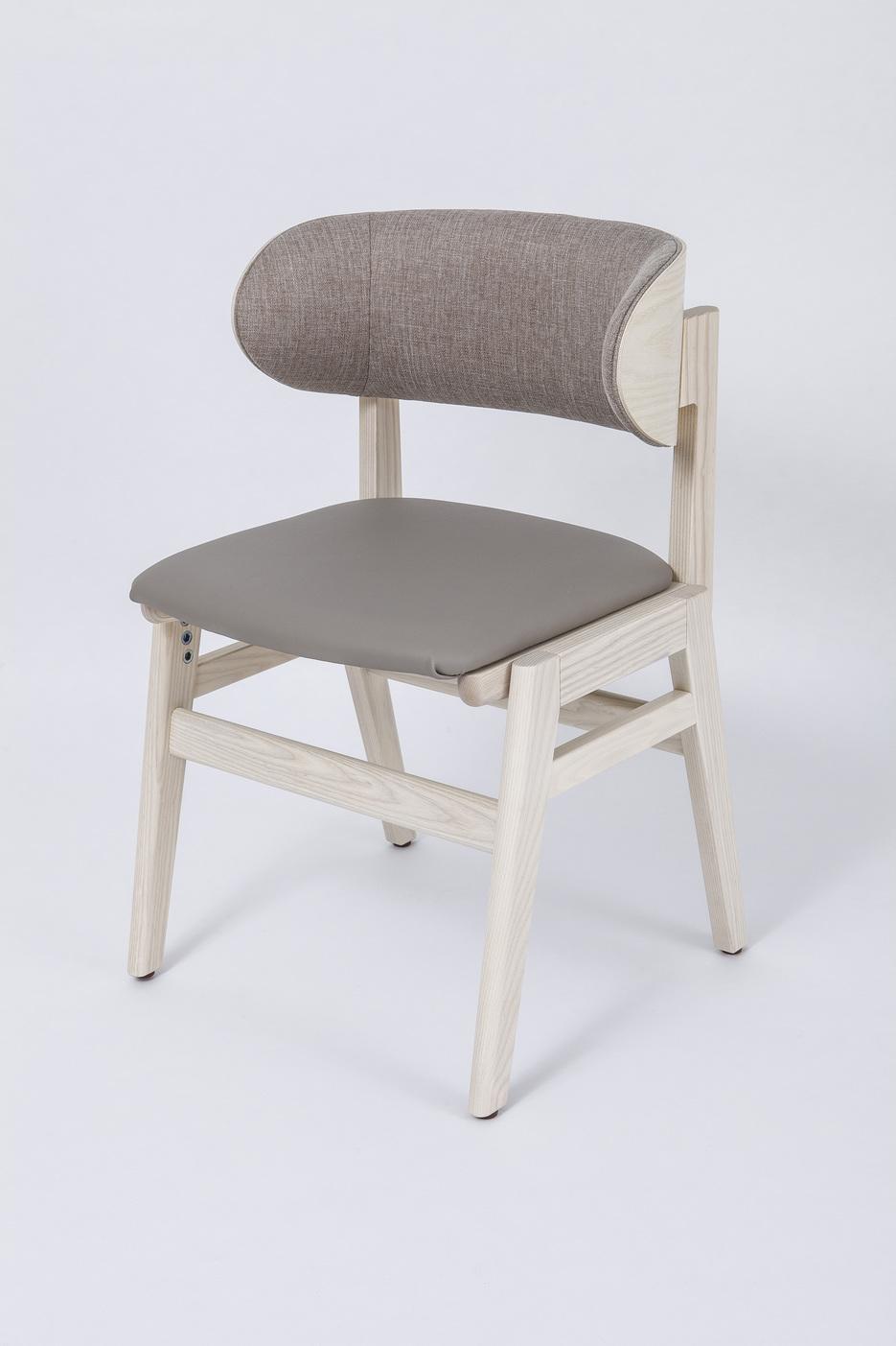 《日本Sasaeru》實木手工製造 抱著椅-白色