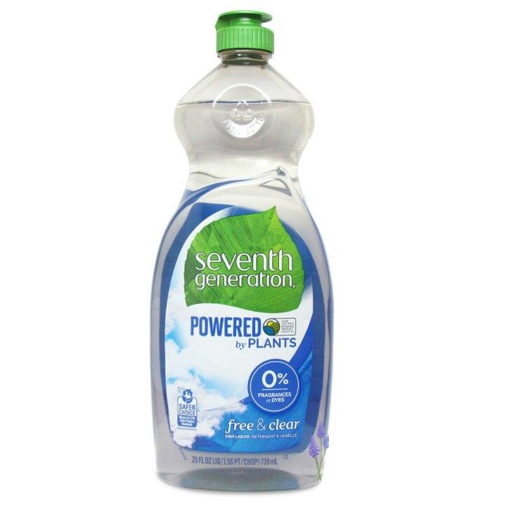 【彤彤小舖】美國環保品牌 Seventh Generation 淨七代 Natural 植物性洗碗精 739ml