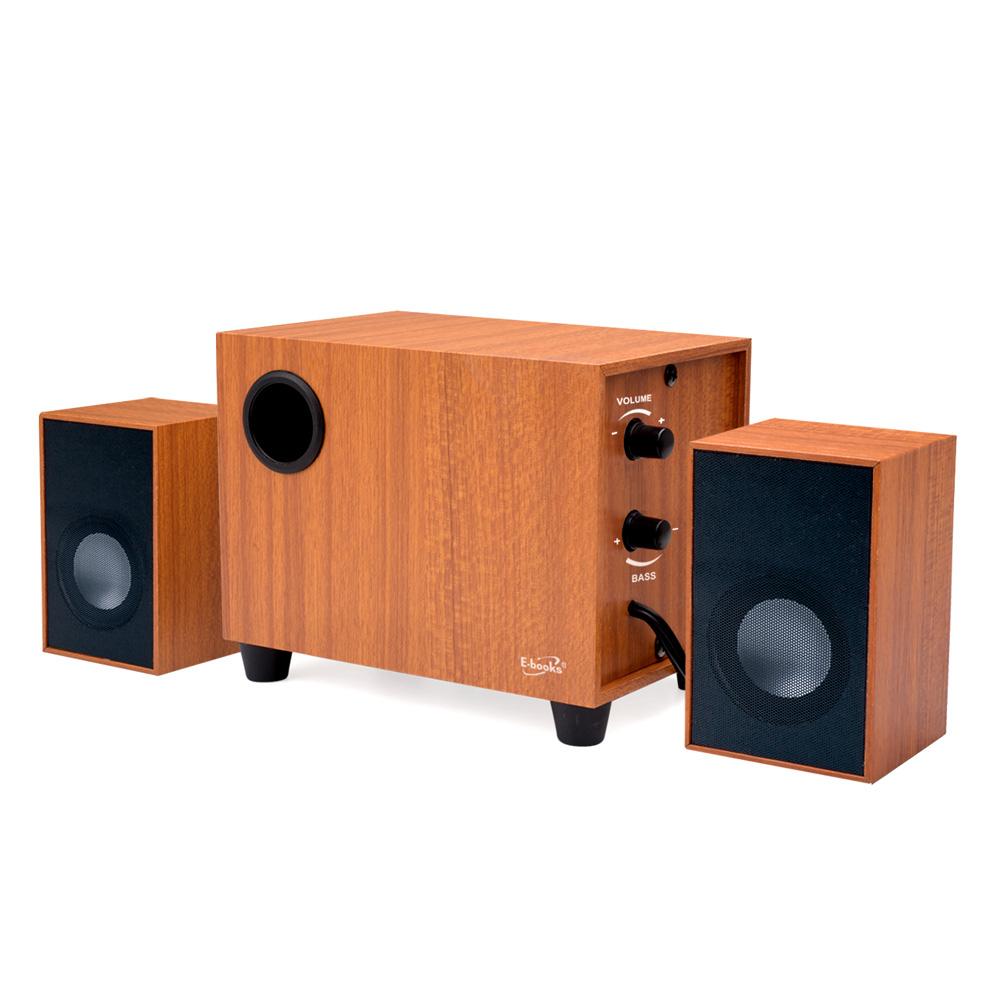 【除舊換新↘6折】D27 重低音2.1聲道木質多媒體喇叭