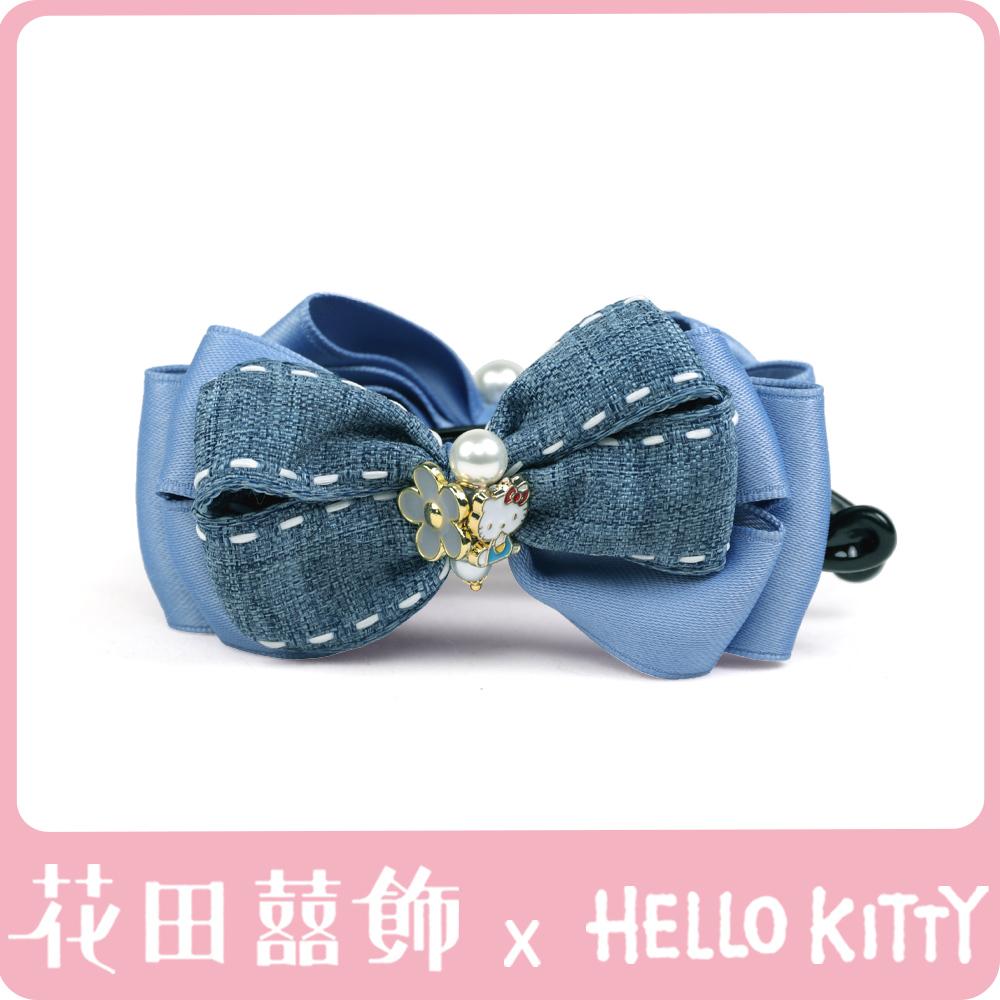 [Hello Kitty聯名款]牛仔女孩進行曲香蕉夾 (莫蘭迪藍)