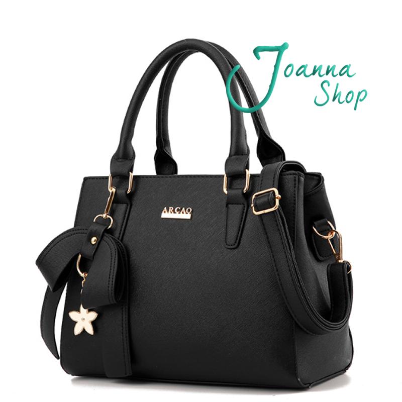 斜背包 蝴蝶純潔桐花手提包1-Joanna Shop