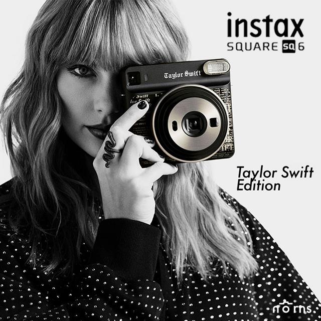 【SQ6拍立得相機 泰勒絲Taylor Swift聯名款】Norns 單機不含底片 限量特別版 恆昶公司貨 一年保固 富士instax SQUARE 適用方形相紙