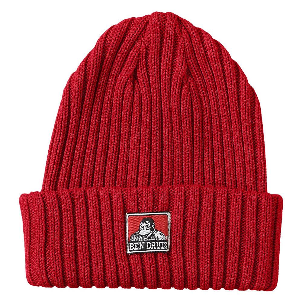 BEN DAVIS - BDW-9500-04 COTTON KNIT CAP 毛帽 / 針織帽 (紅色)