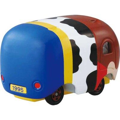 16033100007\t限定TOMY小車-TSUM胡迪乳牛衣     迪士尼 玩具總動員 TOY   擺飾 收藏 真愛日本