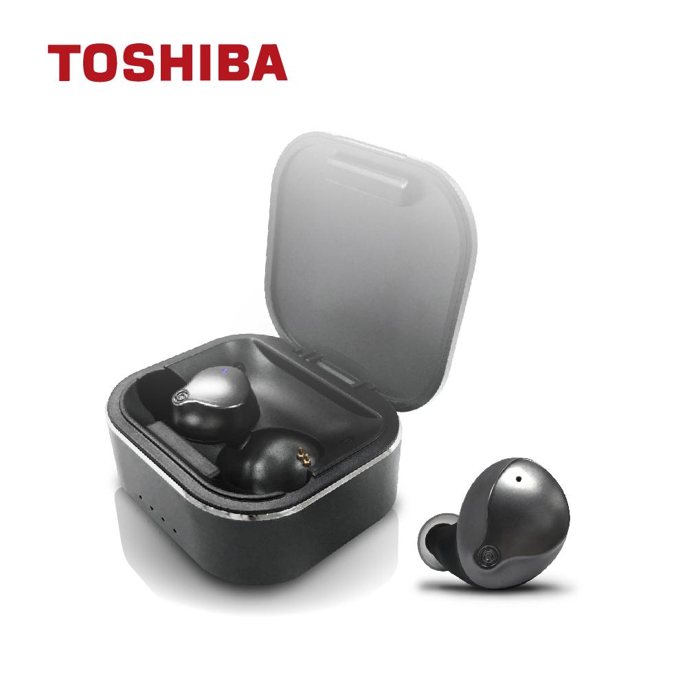 免運 TOSHIBA東芝 TSB真無線藍芽耳機 RZE-BT950E-K 【2入組】