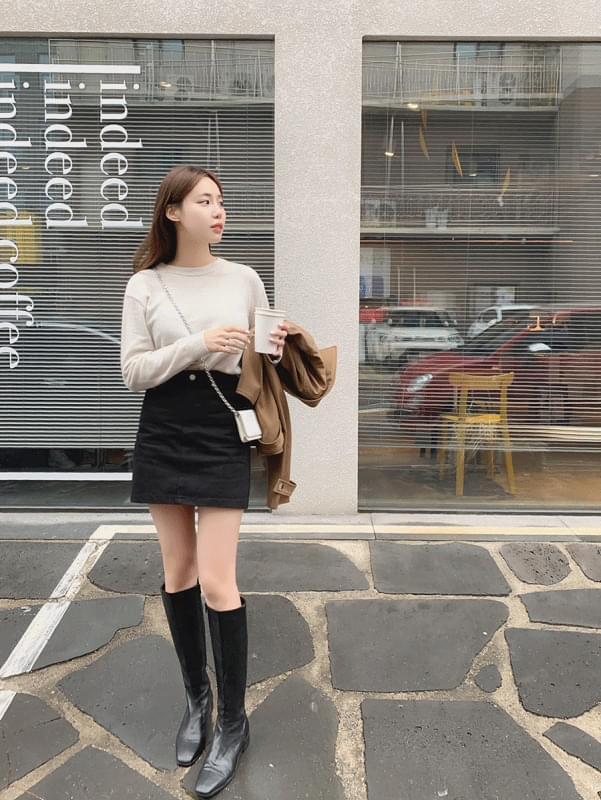 韓國空運 - Casual Mini Skirt 裙子