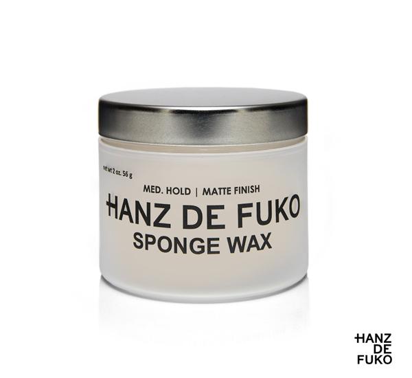 【特價】Hanz de Fuko Sponge Innovative Wax 微霧光全能彈性髮蠟(2oz)