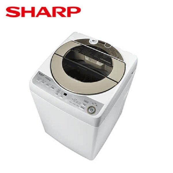 ★贈全家商品卡500元★ SHARP 夏普 11kg直立式無孔槽變頻洗衣機 ES-ASF11T **免費基本安裝+舊機回收**