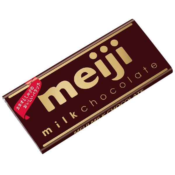 meiji明治牛奶巧克力(片裝) 【康是美】