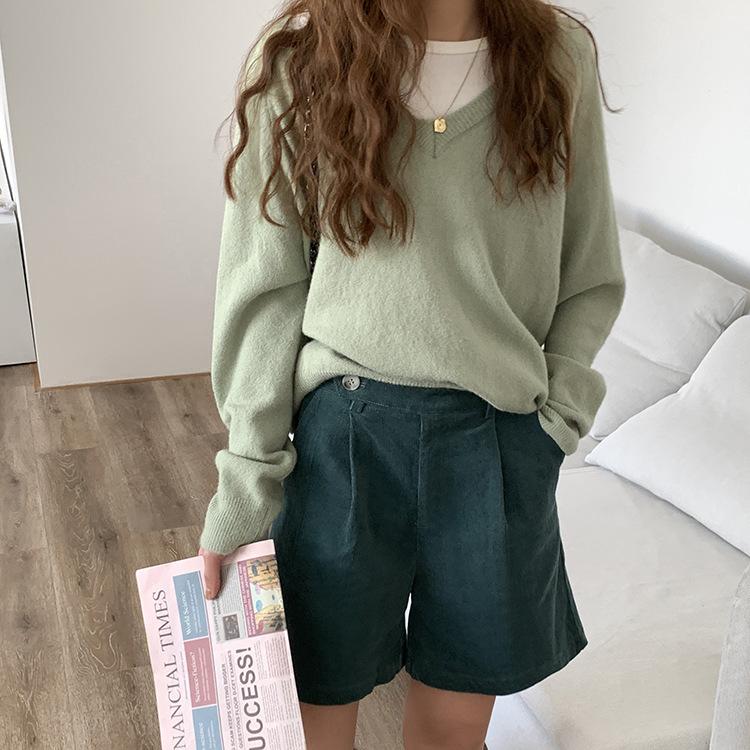 【missy shop】森林守護者五分褲-K78535