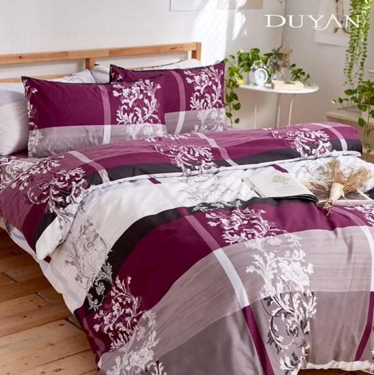 床包被套組(薄被套)-雙人加大 / 舒柔棉四件式 / 歐式奢瓷 台灣製