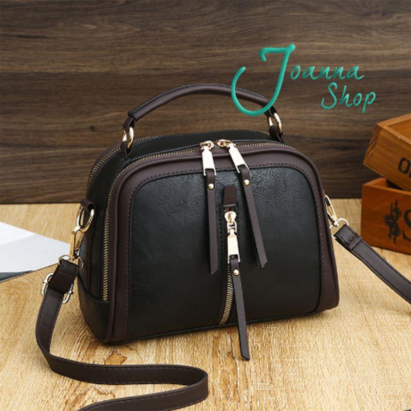 經典品牌歐美時尚新款女包簡約手提包潮流購物斜背包-2Joanna Shop