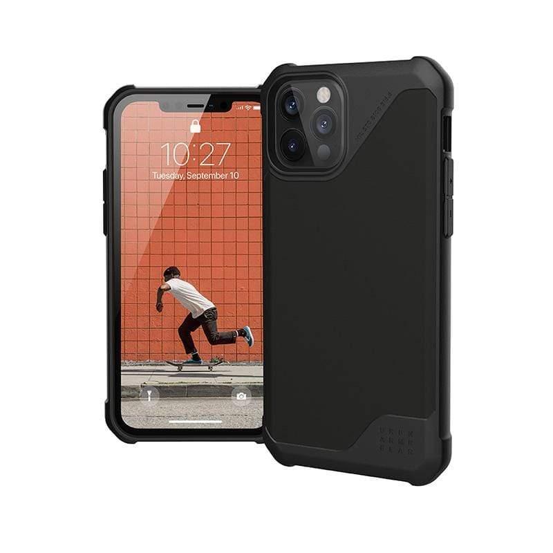 iPhone 12/12 Pro 耐衝擊保護殼-極簡黑 極簡黑