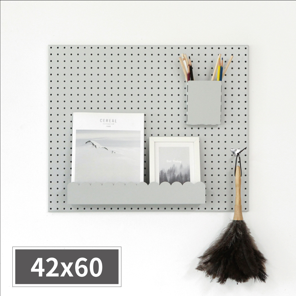 inpegboard洞洞板42X60X1.5CM 韓國製 完美主義【G0025】