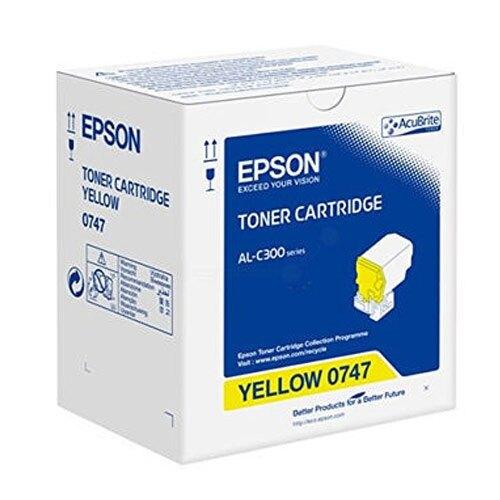 618購物節EPSON 黃色原廠碳粉匣 / 個 S050747