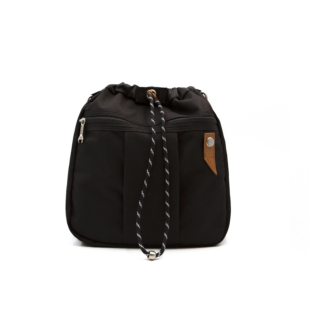 【限時九折】RITE環保紗系列 EV01魚缸包-L 全黑