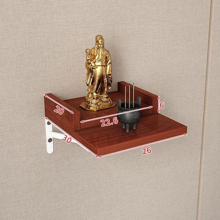佛龕 佛龕神位財神櫃觀音台灶神香火台供台客廳牆壁掛式供佛台家用掛牆b153