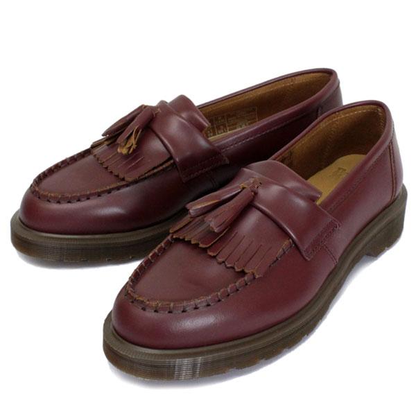 Dr.Martens - Leroy Fringed Leather Loafers 經典 流蘇 樂福鞋 馬汀鞋 (OXBLOOD深紅)