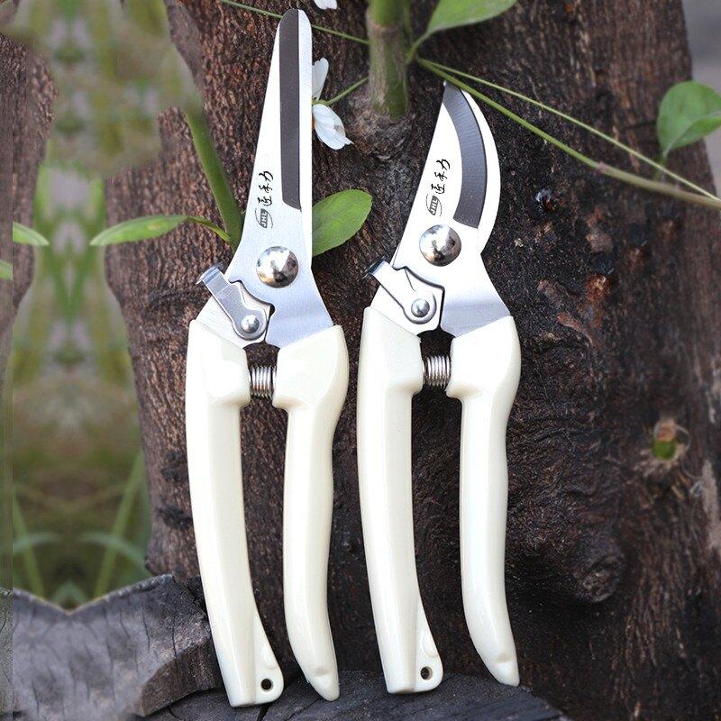 修樹枝剪刀 不銹鋼強力園林園藝修枝剪家用省力修花修建樹枝花卉剪刀b221