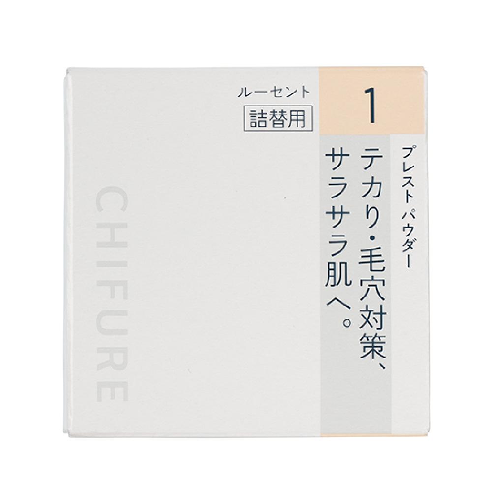 CHIFURE 蜜粉餅補充芯 1啞光 【康是美】