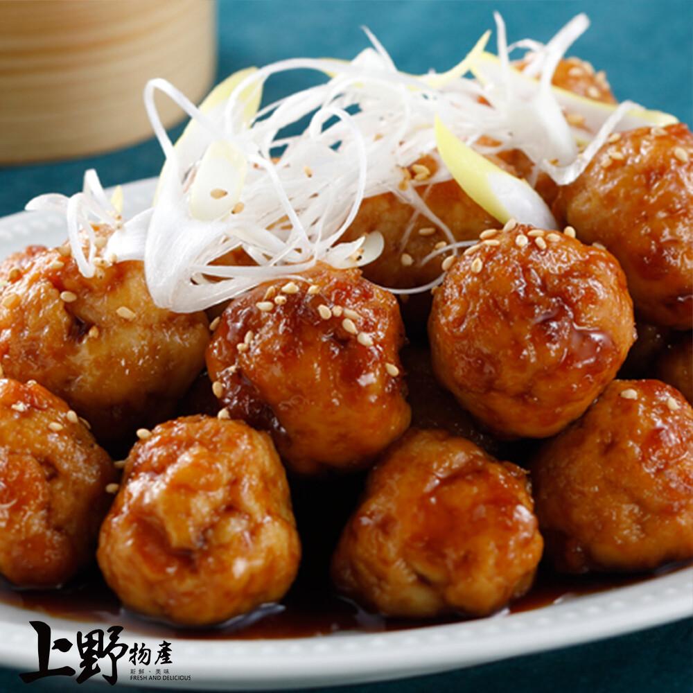 上野物產相撲鍋必備 新鮮台灣雞肉丸子(300g)包