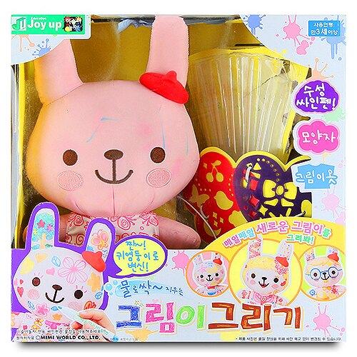 【MIMI WORLD】粉紅兔魔法塗鴉組 MI52752