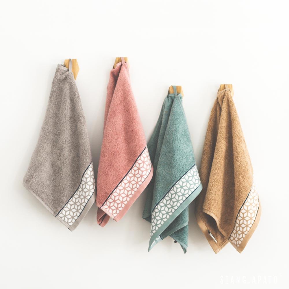 方巾- 50x30cm / 緞編水立方 / 葡萄牙進口 / 五色任選