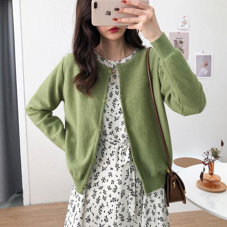 【missy shop】心跳頓點針織罩衫-6855926