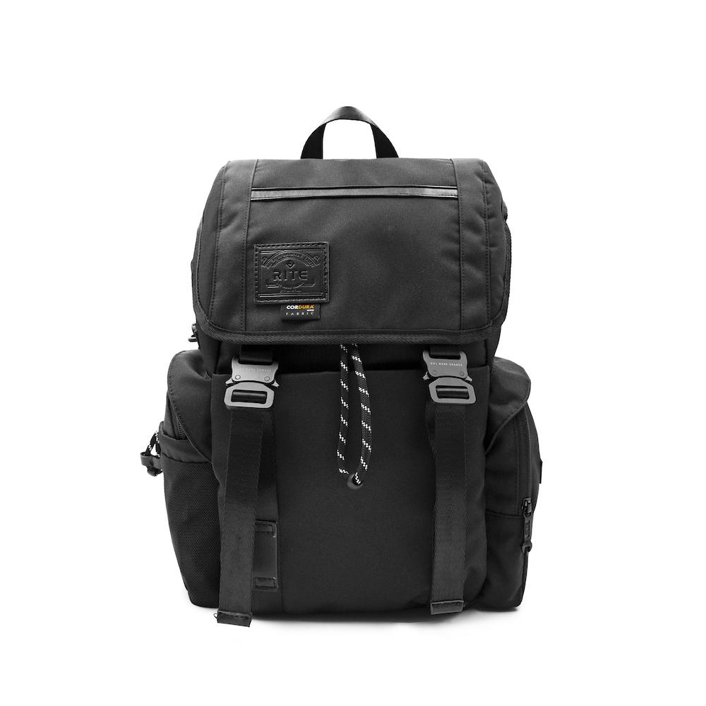 【限時九折】RITE TT02海軍包 軍感cordura機能後背包 內附可拆卸托特袋 黑色