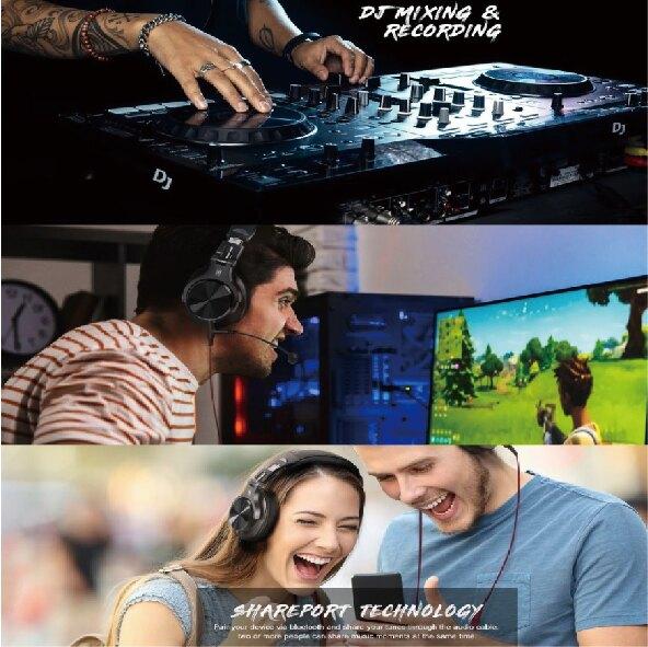 OneOdio Fusion A71 電競 DJ 二合一耳麥 - O01-100-03