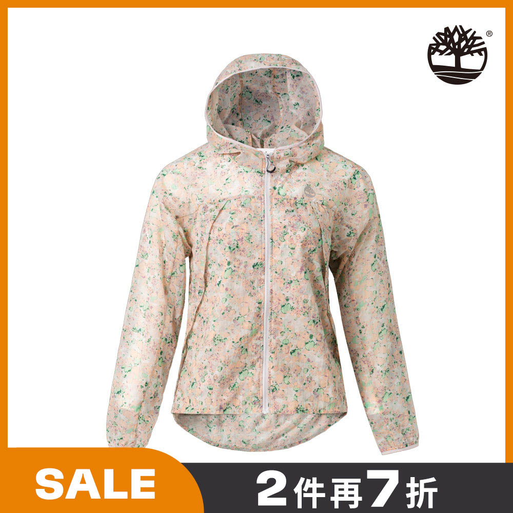 Timberland 女款玫瑰粉輕質尼龍外套|B4101N97
