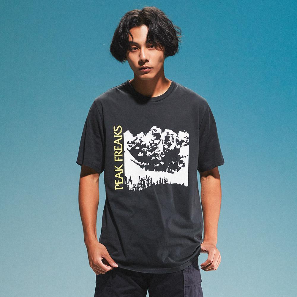 Levis 男款 短袖T恤 / 滑版系列 / 街頭塗鴉 / 黑-熱銷單品