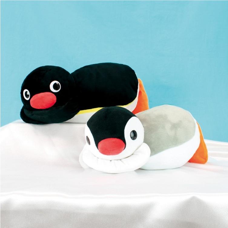 《企鵝家族》30cm趴姿娃娃-Pingu/Pinga