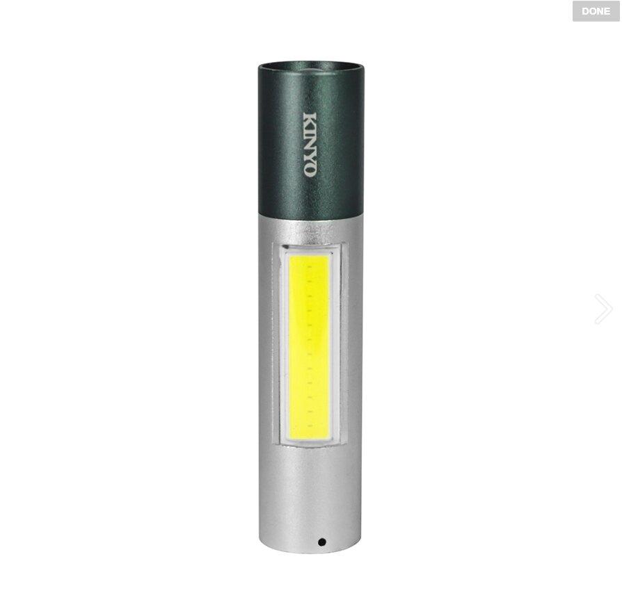 【KINYO】多段調光迷你手電筒 (LED-5032)【迪特軍】