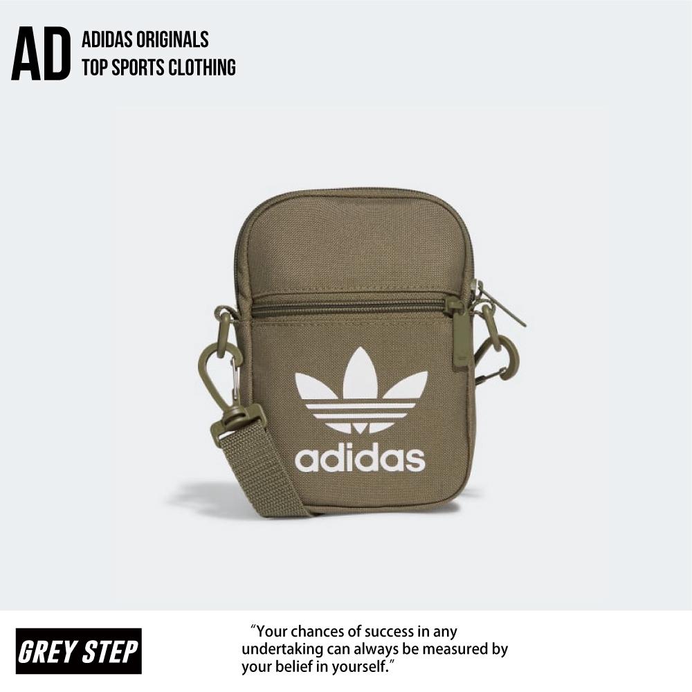 Adidas 愛迪達 經典 三葉草 軍綠 小包 肩包 腰包 胸包 GL7472 全新正品 統一發票