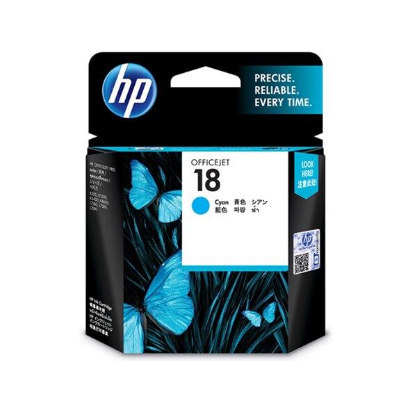 HP 藍色原廠墨水匣 / 盒 C4937A 18