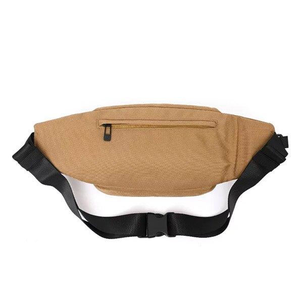 KANGOL 英國袋鼠 腰包 胸包 斜背包 網袋 多袋 淺咖啡色【6055300230】