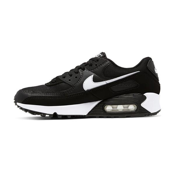 【NIKE】W AIR MAX 90 休閒鞋 經典 氣墊 復古 黑 女鞋 -CQ2560001