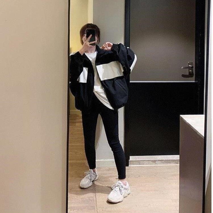 棒球服 春秋季短款風衣女2021新款韓版寬鬆百搭休閒女士夾克棒球服薄外套【顧家家】